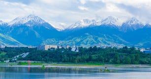Lago Sayran Fotos de Stock