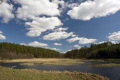 Lago scenico Immagini Stock