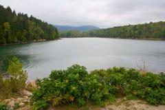 Lago scenico Fotografia Stock