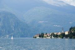 Lago scenico Como Varenna Immagine Stock Libera da Diritti