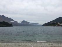Lago scenico Nuova Zelanda queenstown Fotografia Stock Libera da Diritti