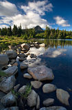Lago scout foto de stock