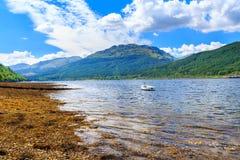 Lago Scozia lunga Immagini Stock