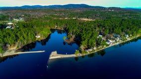 Lago Sebego imágenes de archivo libres de regalías