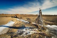 lago seco imágenes de archivo libres de regalías