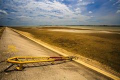 lago seco Foto de archivo libre de regalías