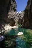 Lago secreto en Ronda Imágenes de archivo libres de regalías