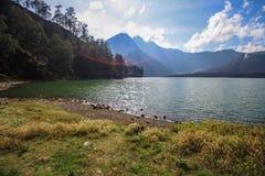 Lago Segara Anak Foto de Stock