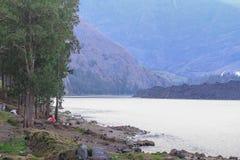 Lago Segara Anak Foto de Stock Royalty Free