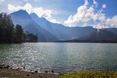 Lago Segara Anak Imagem de Stock