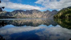 Lago Segara Anak Fotografie Stock