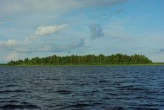 Lago Seliger, regione di Tver', Russia centrale fotografia stock libera da diritti