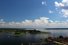 Lago Seliger, Rusia Fotografía de archivo libre de regalías