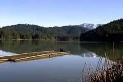 Lago Selmac nell'Oregon Immagini Stock
