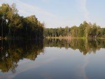 Lago selvaggio immagine stock
