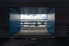 Lago Senftenberg Fotografie Stock Libere da Diritti