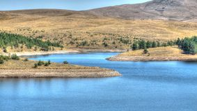 Lago Serbia Ribnica Immagini Stock Libere da Diritti