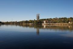 Lago sereno Imagen de archivo libre de regalías