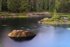 Lago sereno foto de archivo
