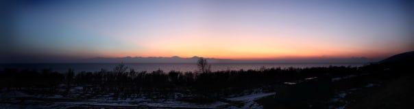 Lago Sevan Panarama Imagem de Stock Royalty Free