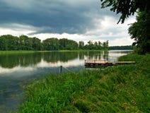 Lago Shamsutdin Imagenes de archivo