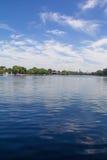 Lago Shichahai de Pekín Imagen de archivo libre de regalías