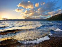 Lago Shikotsu Immagini Stock Libere da Diritti