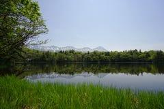 Lago Shiretoko Foto de archivo libre de regalías