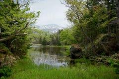 Lago Shiretoko Foto de archivo