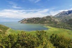 Lago Shkadarsko Foto de archivo libre de regalías