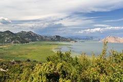 Lago Shkadarsko Fotos de archivo