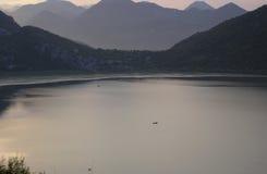 Lago Shkoder imagens de stock royalty free