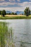 Lago Siguret vicino a Embrun - Alpes - la Francia Immagini Stock Libere da Diritti