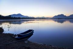 Lago silence Fotos de archivo