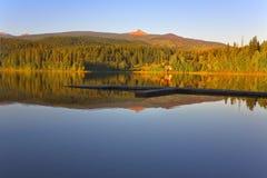 Lago silencioso Foto de Stock Royalty Free