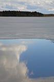 Lago Siljan in Mora sweden Immagini Stock
