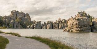 Lago Silvan imagens de stock