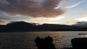 Lago Singkarak Imagen de archivo libre de regalías