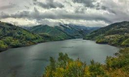 Lago Siriu immagine stock