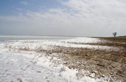 Lago Sivash fotos de stock