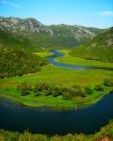 Lago Skadar Foto de Stock