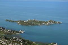 Lago Skadar Fotografía de archivo libre de regalías