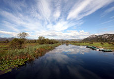 Lago Skadar - Montenegro Foto de Stock