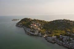 Lago Skadar nel Montenegro Fotografia Stock