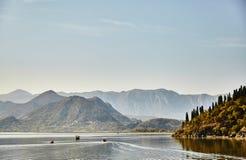 Lago Skadar Parque nacional montenegro verão imagem de stock royalty free