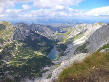 Lago Skrcko na montanha Montenegro de Durmitor Imagens de Stock
