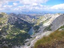 Lago Skrcko sulla montagna Montenegro di Durmitor Immagini Stock