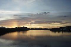 Lago sky Immagine Stock Libera da Diritti