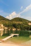 Lago - Slovacchia Fotografia Stock
