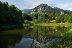 Lago Smolyan, Bulgária Imagem de Stock Royalty Free